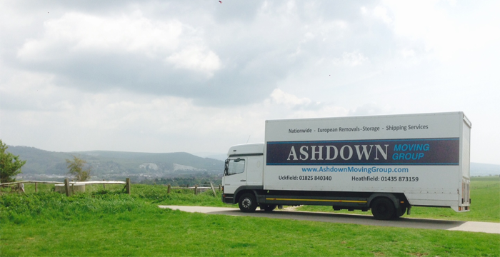 Ashdown Moving Group at work